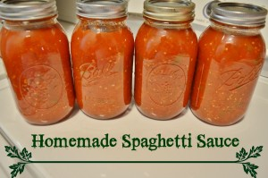 ¿Puede congelar salsa de espagueti casera?