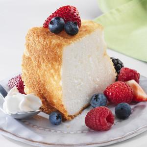 ¿Puede usted congelar la torta de los alimentos del ángel?