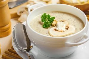 ¿Se puede congelar sopa de hongos?