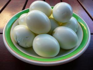 ¿Puede congelar huevos duros?