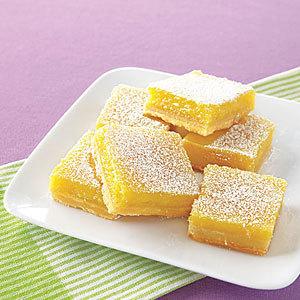 ¿Puede congelar barras de limón?