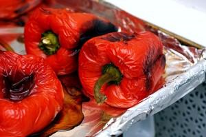 ¿Puede congelar los pimientos rojos asados?